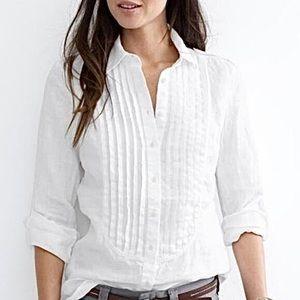 Banana Republic White Slim Shirt Size 2-4
